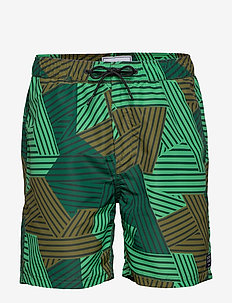 All over printed swimshort - szorty kąpielowe - combo b