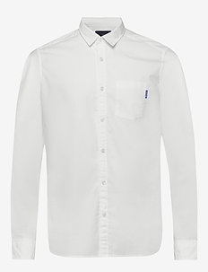 Light weight long sleeve shirt - basic shirts - off white