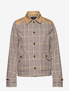 Workwear jacket in houndstooth quality - utility-jakker - combo a