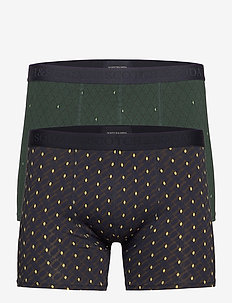 Classic boxer short in stripes and all-over prints - boxershorts - combo a