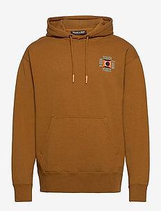 Clean felpa hoodie with pop chest embroidery - hoodies - teddy