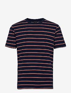 Classic cotton-elastane crewneck tee - short-sleeved t-shirts - combo f
