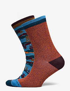 Colourful cotton-blend socks - normale sokken - combo a