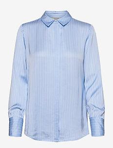 Regular fit viscose shirt - overhemden met lange mouwen - combo s