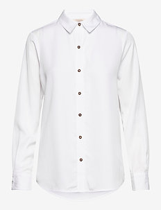 Classic shirt in lyocell quality - chemises à manches longues - white