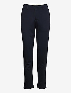 Tailored stretch pants - rette bukser - night