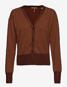 Classic cardigan - cardigans - copper melange