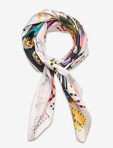 Seasonal map scarf - szaliki i chusty - combo a