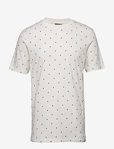 Short sleeve tee with allover print - korte mouwen - combo g