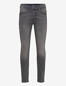 Ralston - Black on Blue - slim jeans - black on blue