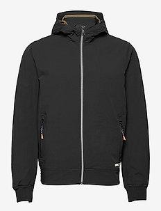Hooded jacket - kurtki bomber - black
