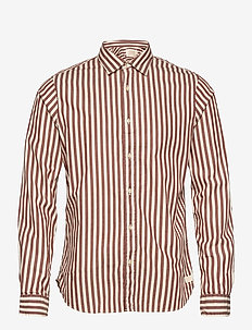 REGULAR FIT- Cotton striped shirt - casual shirts - combo b
