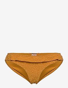 Jaquard bikini bottom - bikini bottoms - marigold