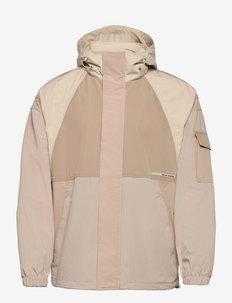 Colour block lightweight jacket - windjassen - combo a