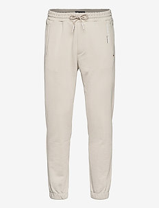 UNISEX - Organic felpa sweat pant - tøj - stone
