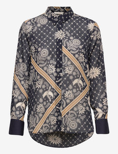 Relaxed fit printed shirt - pitkähihaiset paidat - combo l