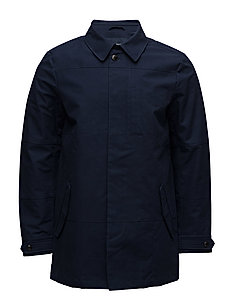 Ams Blauw clean trench coat - MIDNIGHT