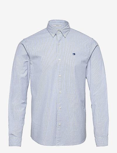 NOS Oxford shirt regular fit button down collar - basic shirts - combo a
