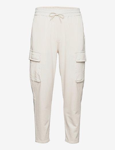 Organic cotton felpa cargo jogger - pantalon cargo - kit
