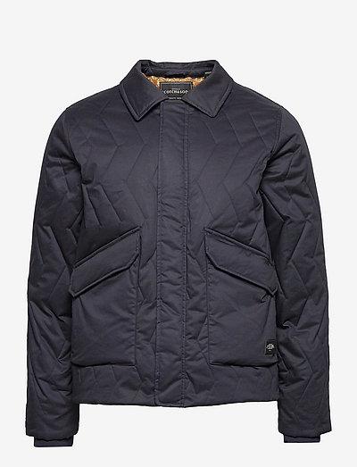 Classic quilted organic cotton jacket - gefütterte jacken - night