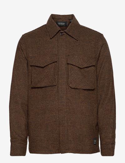 Relaxed overshirt - vêtements - combo b