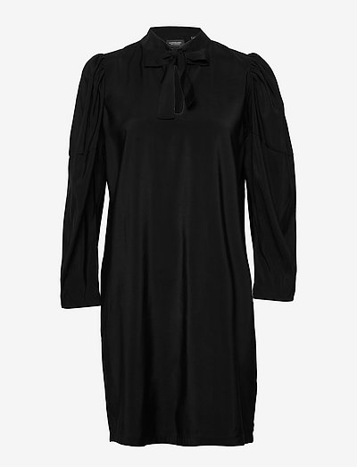 Special sleeved dress - zomerjurken - black
