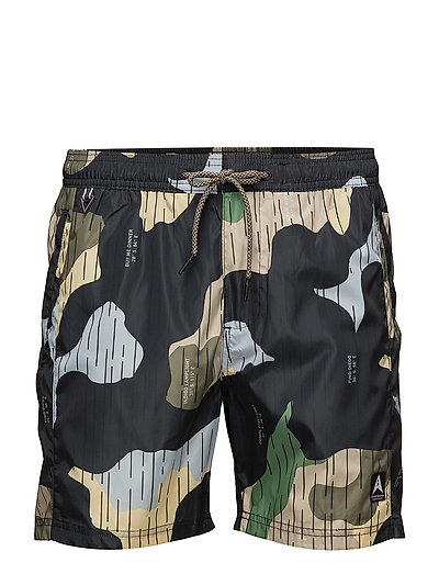 Allover printed swim shorts - COMBO B