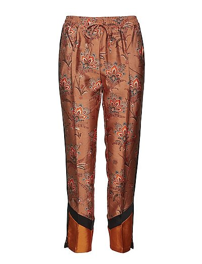 Tailored jogger pants with contrast side panels - COMBO A