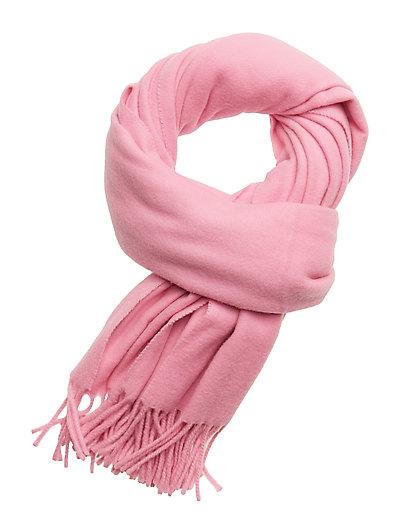 Classic wool scarf - ALPINE PINK