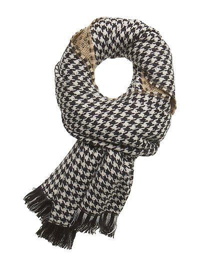 Double sided wool scarf - COMBO A