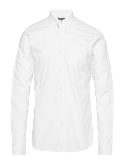 SCOTCH & SODA Ams Blauw Premium Dress Shirt Hemd Business Weiß SCOTCH & SODA