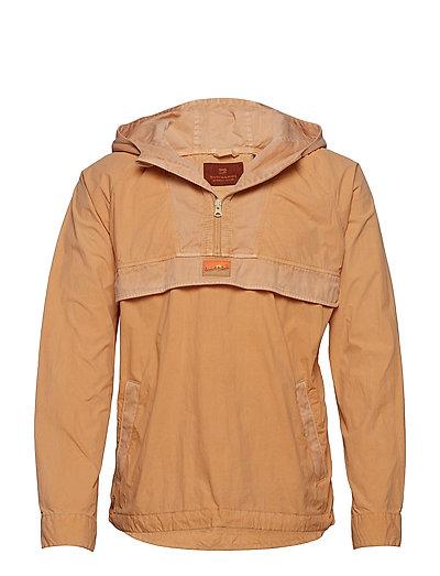 Summer Garment-Dyed Anorak Outerwear Jackets Anoraks Beige SCOTCH & SODA