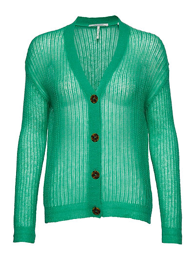 Lightweight Colourful Cardigan Cardigan Strickpullover Grün SCOTCH & SODA
