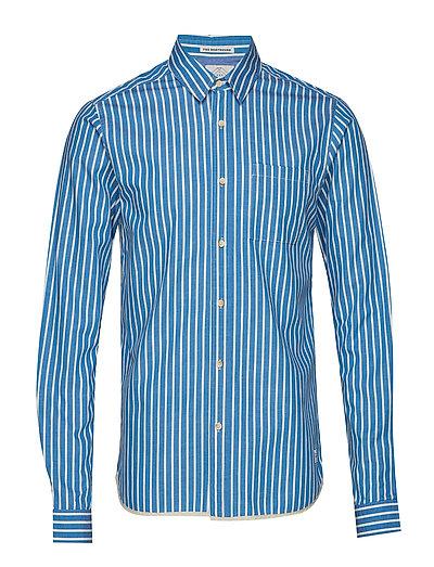 Regular Fit Deck Chair Stripe Shirt Hemd Business Blau SCOTCH & SODA