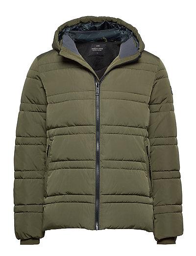 Classic Hooded Primaloft Jacket Gefütterte Jacke Grün SCOTCH & SODA