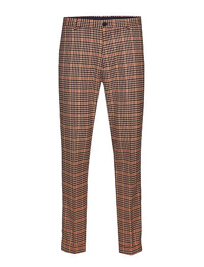 Seasonal Fit- Chic Gentlemans Chino In Yarn-Dyed Pattern Anzughosen Businesshosen Braun SCOTCH & SODA