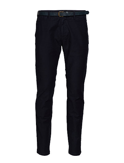 Stuart - Classic Garment-Dyed Twill Chino Chinos Hosen Schwarz SCOTCH & SODA