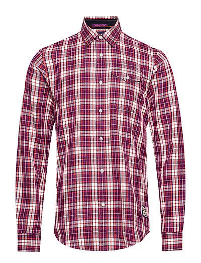 Regular Fit- Multicolour Check Shirt Hemd Casual Rot SCOTCH & SODA