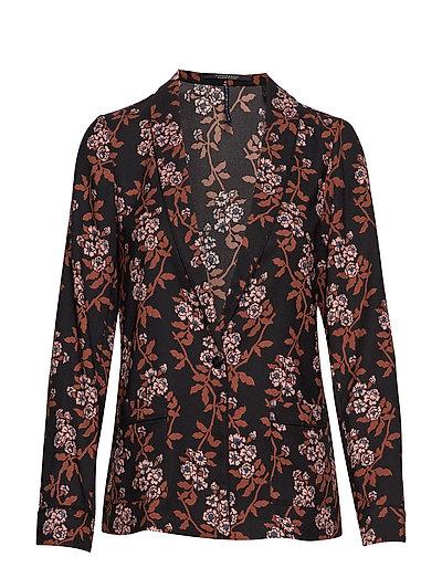Printed Pyjama Blazer Blazer Jackett Bunt/gemustert SCOTCH & SODA