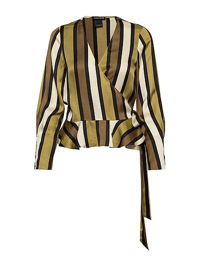 Wrap Shirt In Various Prints Bluse Langärmlig Bunt/gemustert SCOTCH & SODA
