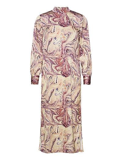 Marble Printed High Neck Dress Maxikleid Partykleid Bunt/gemustert SCOTCH & SODA | SCOTCH & SODA SALE