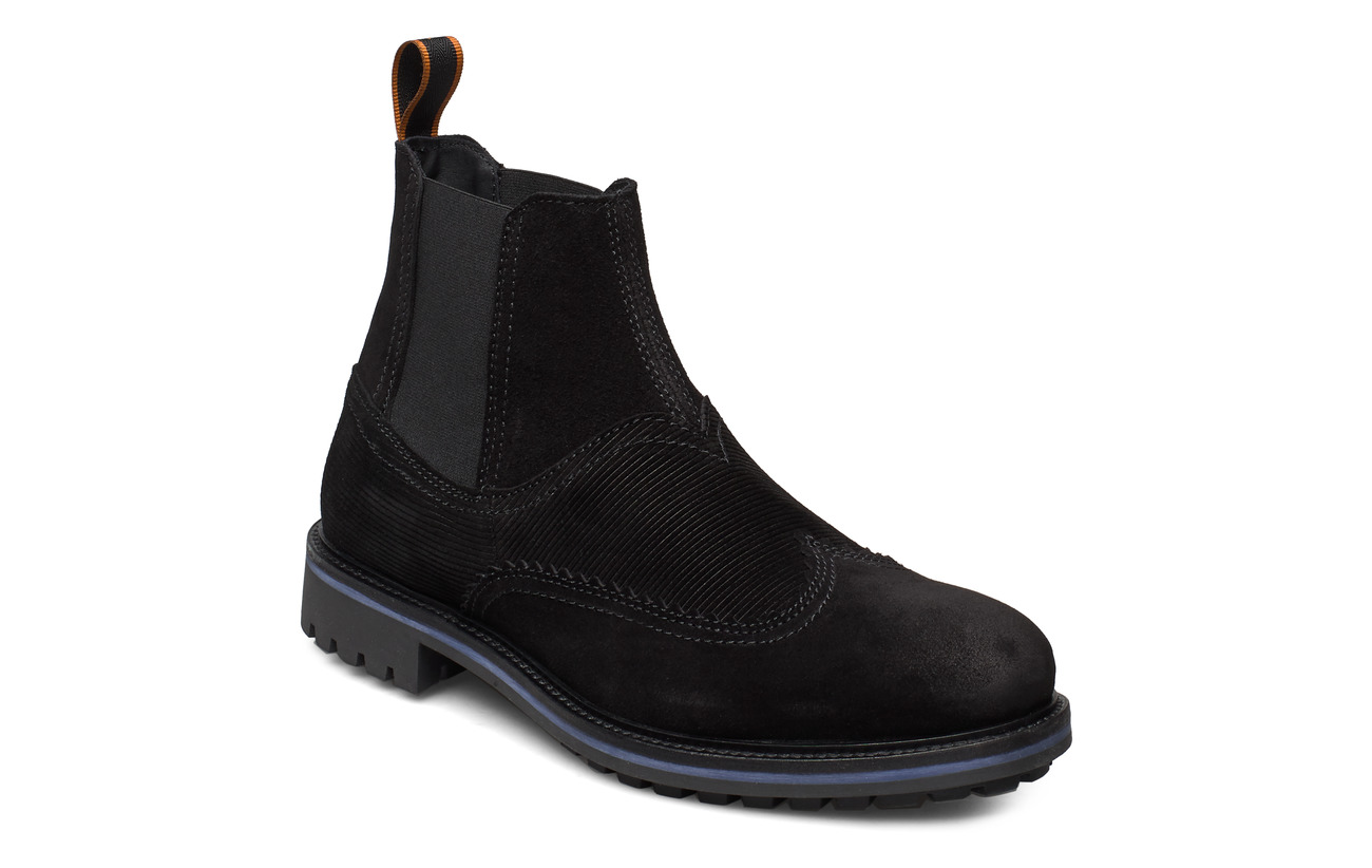 Scotch & Soda Shoes Borrel Mid laceboot - BLACK