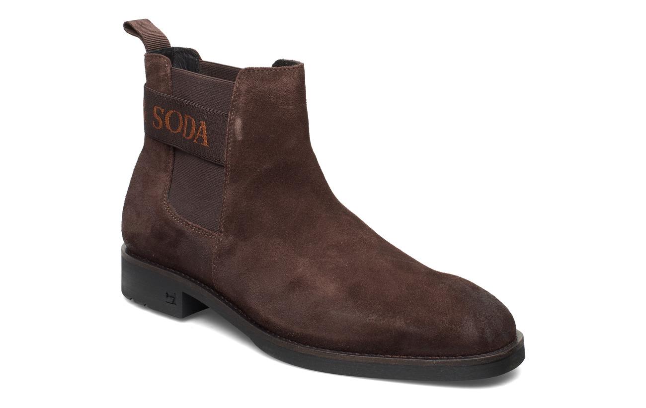 Scotch & Soda Shoes Picaro Chelsea - DARK BROWN