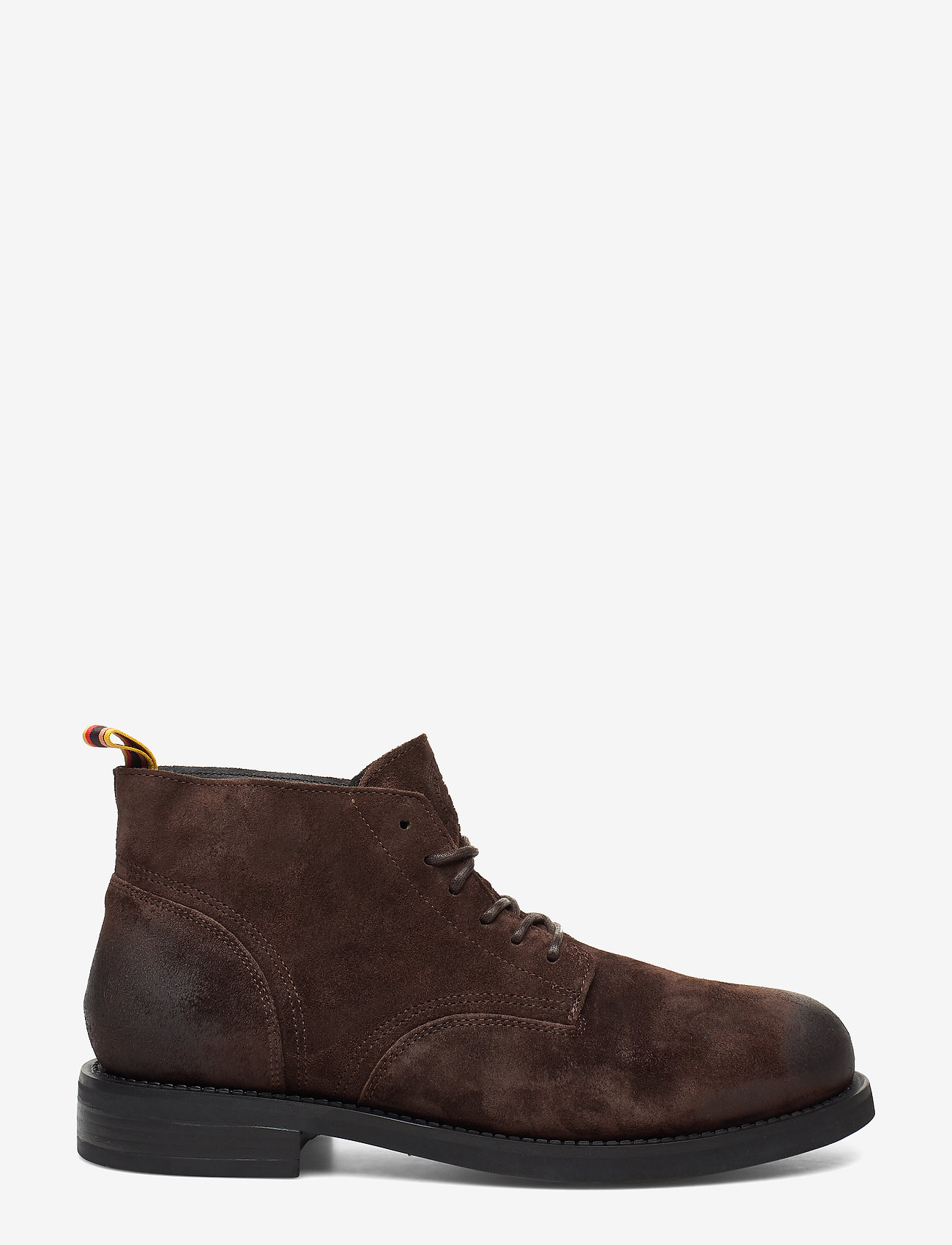 Scotch & Soda Shoes - Daan Low lace - laced boots - dark brown - 1