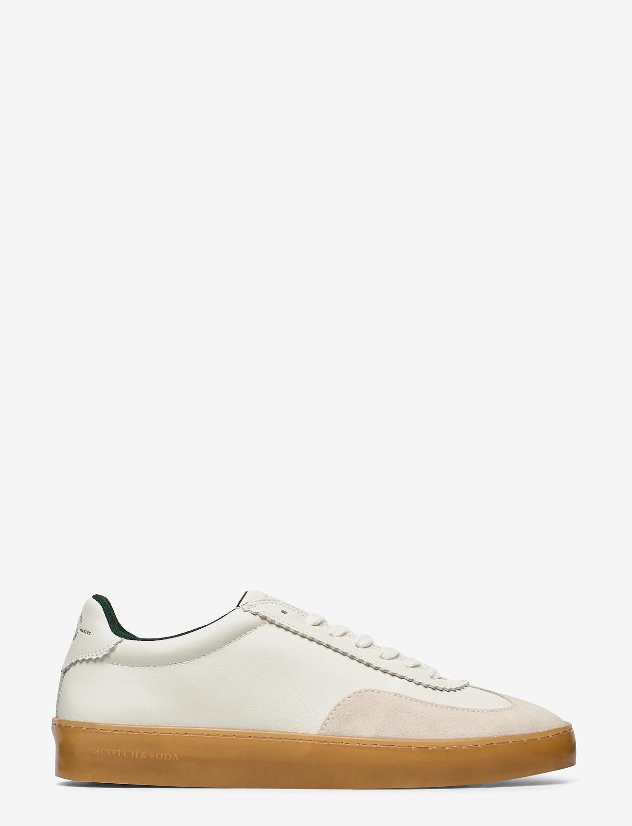 Scotch & Soda Shoes - Plakka Sneaker - low tops - off white - 1