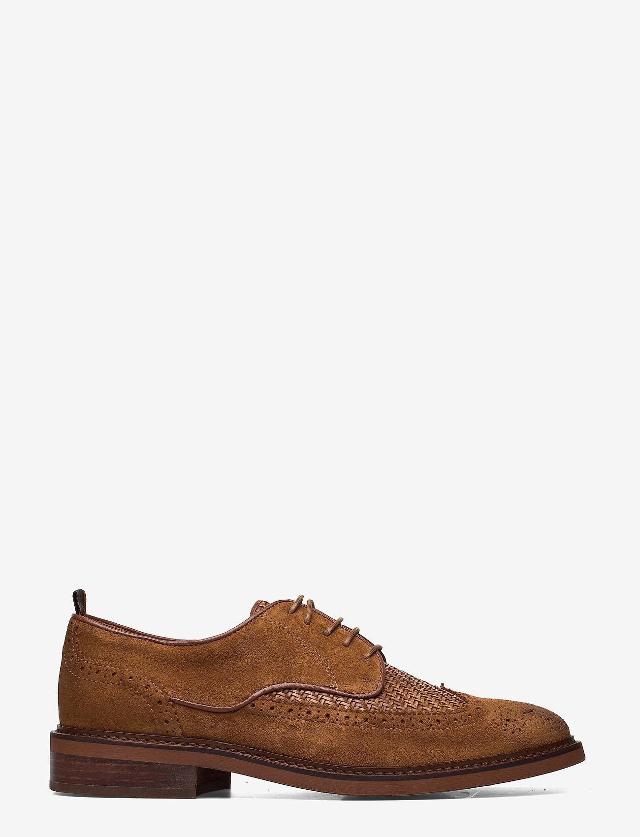 Scotch & Soda Shoes - Merapi Low lace - snøresko - cognac - 1