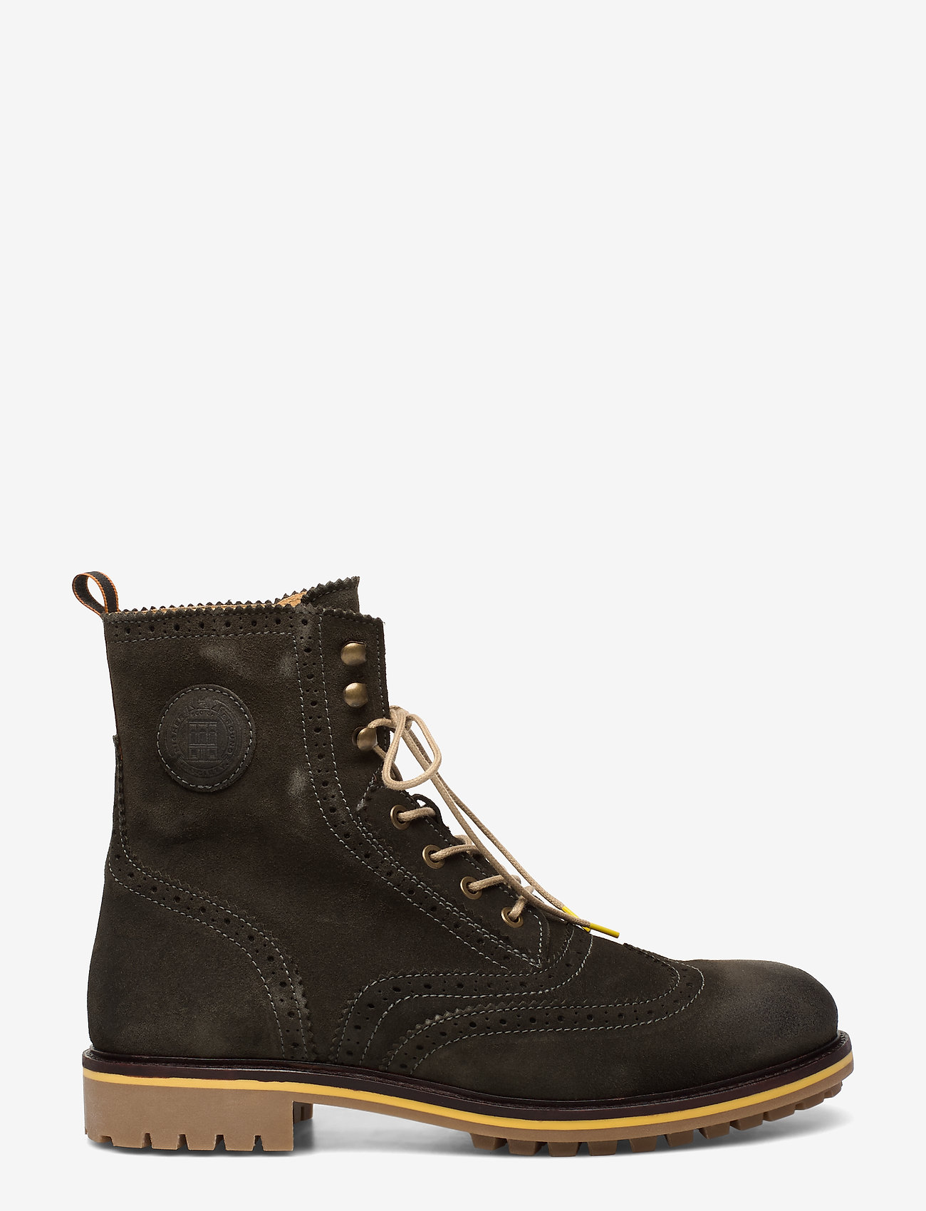 Scotch & Soda Shoes - Borrel Mid laceboot - bottes lacées - forest green - 1