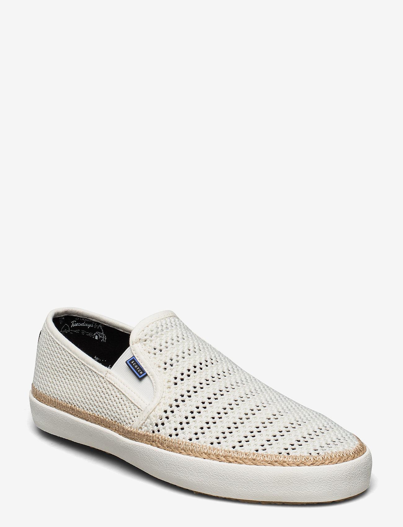 Scotch & Soda Shoes - Izomi Slip-on shoes - baskets slip-ons - off white - 0