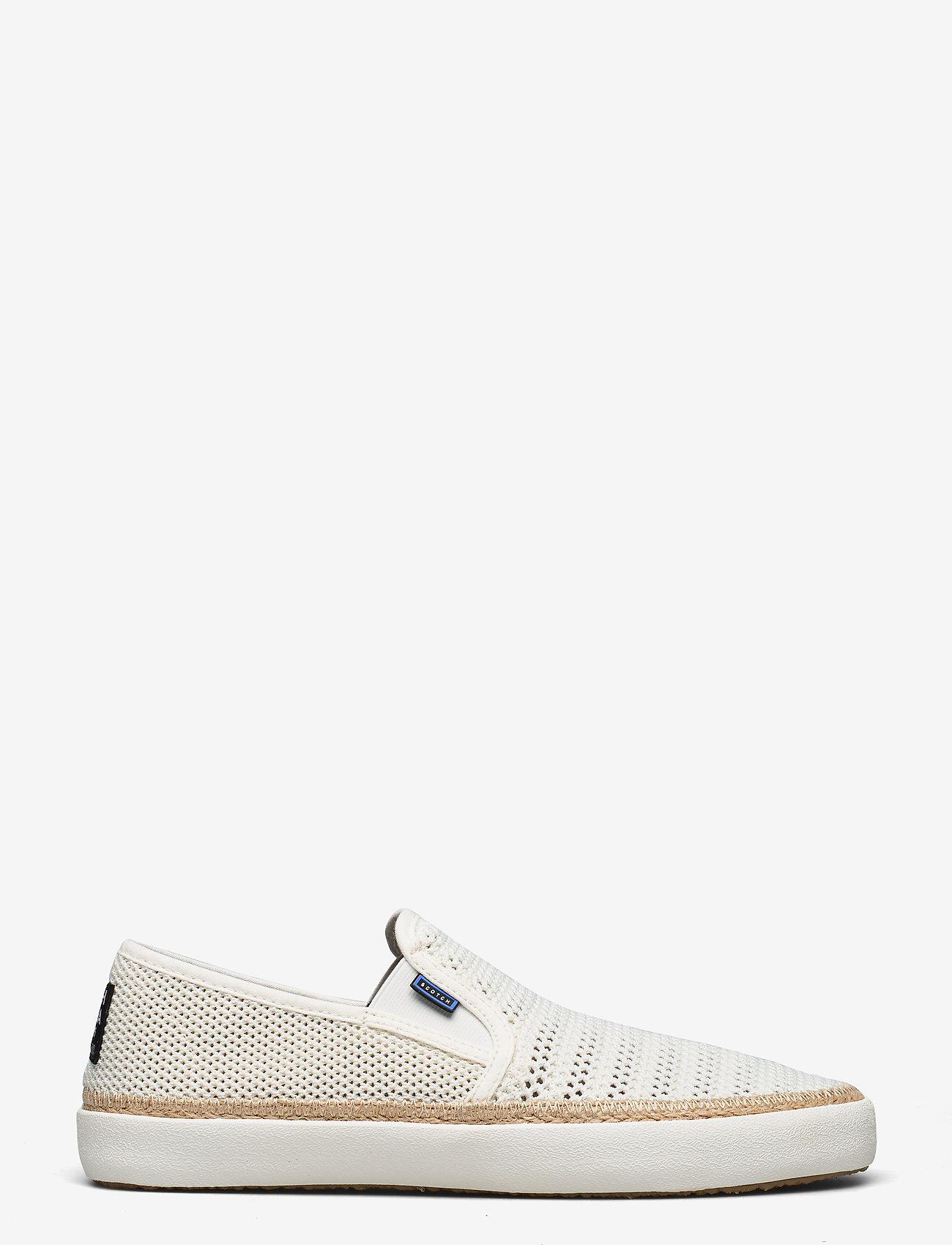 Scotch & Soda Shoes - Izomi Slip-on shoes - baskets slip-ons - off white - 1