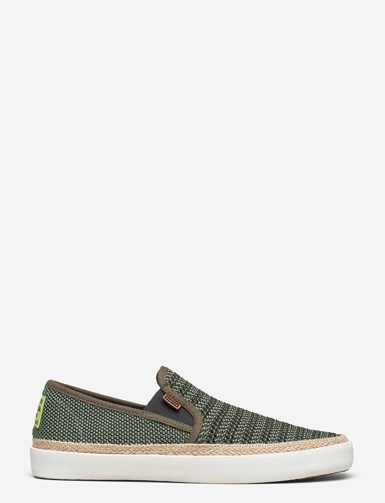 Scotch & Soda Shoes - Izomi Slip-on shoes - baskets slip-ons - military green - 1